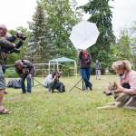 Fotografování sociologického portrétu na výstavě psů v Olomouci
