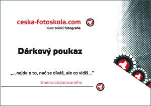 fotografický kurz Olomouc, Ostrava, Zlín- dárkový poukaz