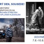 Pozvánka na fotografický workshop s Jindřichem Štreitem a Svatoplukem Klesnilem