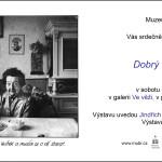 """Další vernisáž proběhla na hradě Sovinci, soubor fotografií Jana Palase """"Dobrý člověk ještě žije""""."""