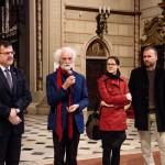 Ze zahájení výstavy Svatopluka Klesnila a Barbory Skopalíkové (foto: Milan Stacho)