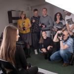 Fotografie z workshopu Improvizace v módní fotografii